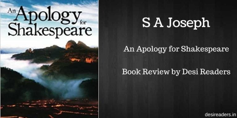 An Apology for Shakespeare by S A Joseph